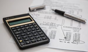 How to Become a Financial Controller UK; picture of a calculator