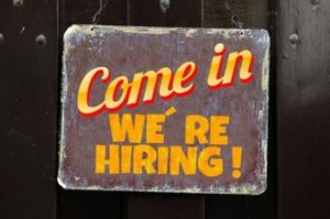 How to Become a HR Business Partner; 'We are hiring' sign