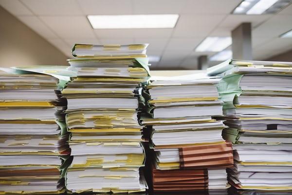 A Teacher's Paperwork