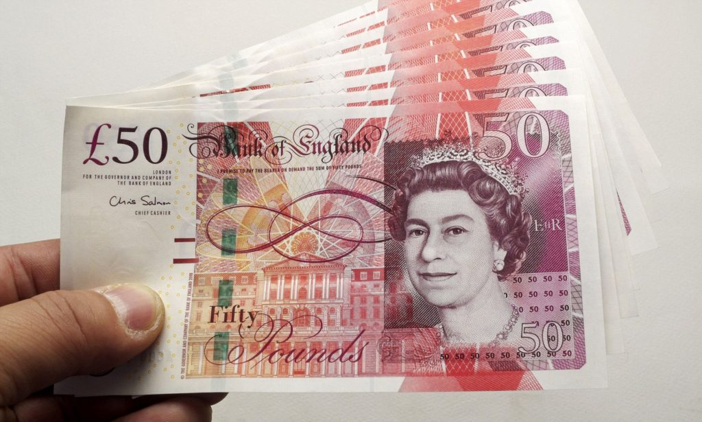 Teaching Career Statistics: £50 pound note