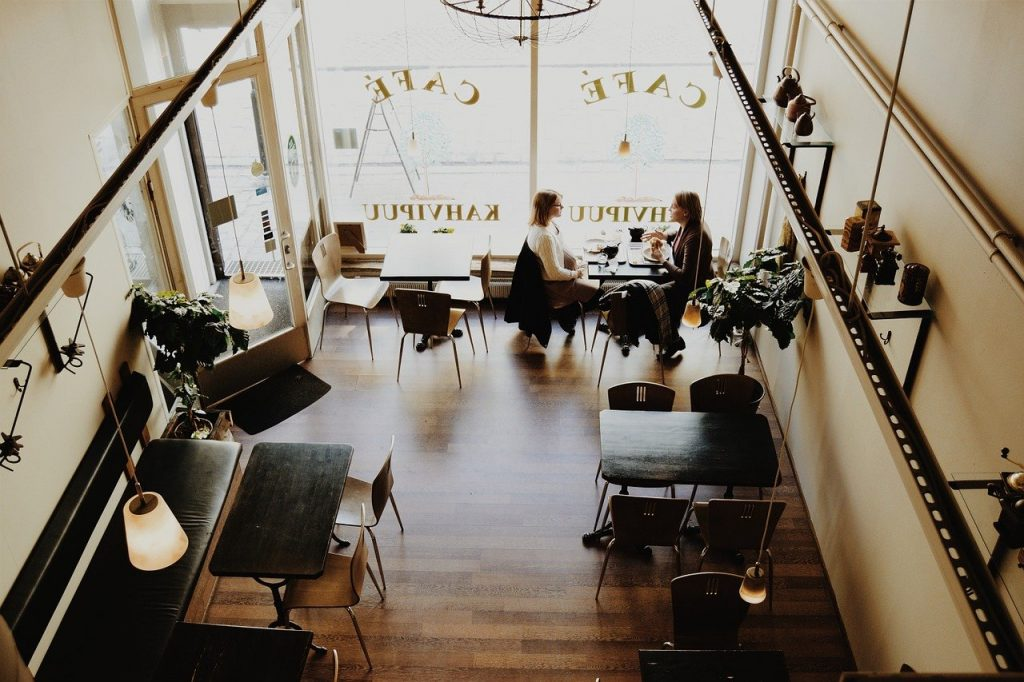is recruitment a good career; cafe, restaurant, coffee