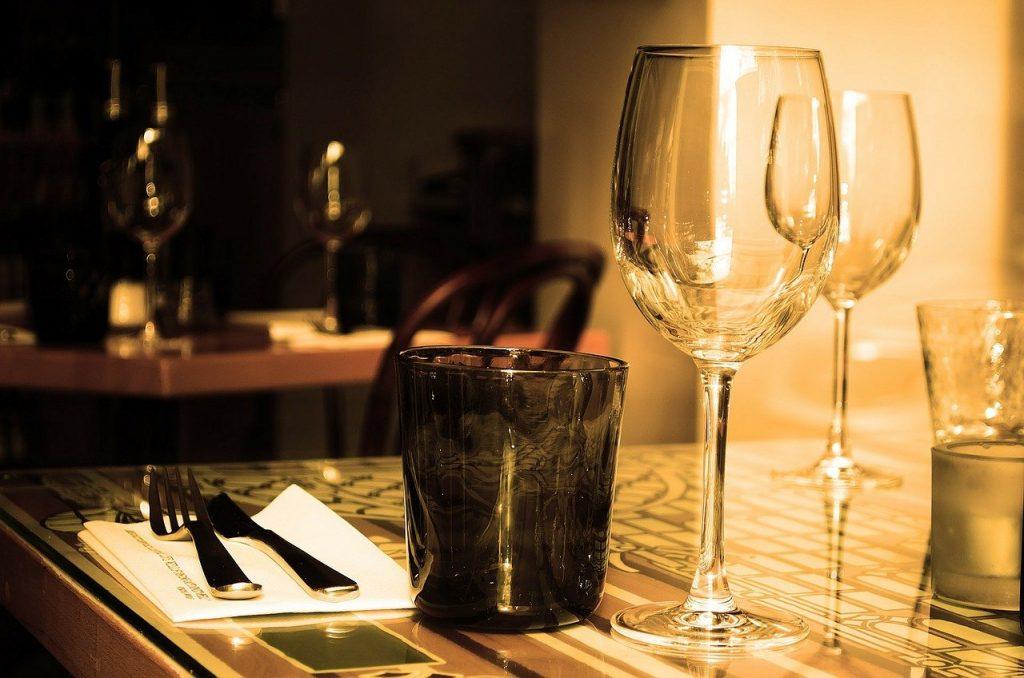 table, restaurant, furniture